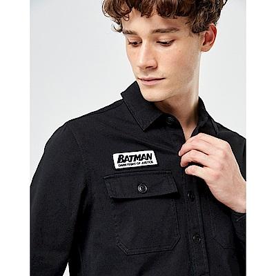 CACO-布章貼布工作襯衫-男【UDC026】