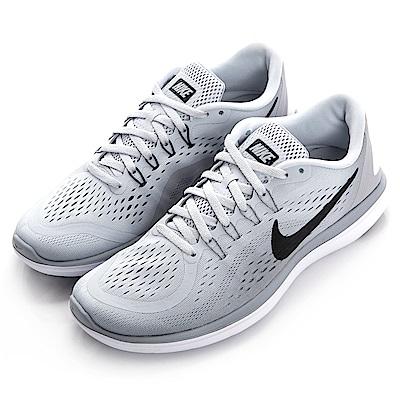 NIKE--男慢跑鞋898457002-灰