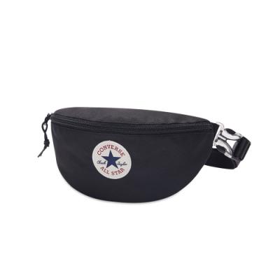 CONVERSE SLING PACK 腰包 側背包 男女 黑-10019907-A05