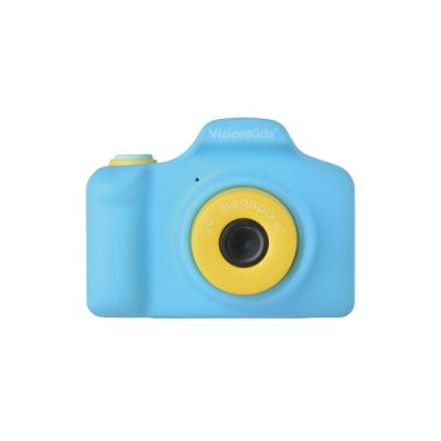 VisionKids - HappiCAMU Plus 2000萬像素雙鏡兒童相機 | 藍色