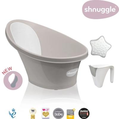 【英國Shnuggle】月亮澡盆2021+小小水瓢+星光洗澡玩具