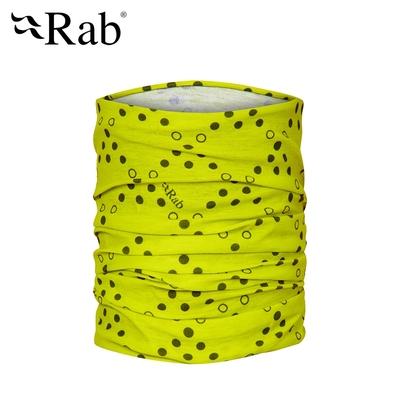 【英國RAB】Rab Tube 多功能運動圍巾 原酸綠 #QAA49