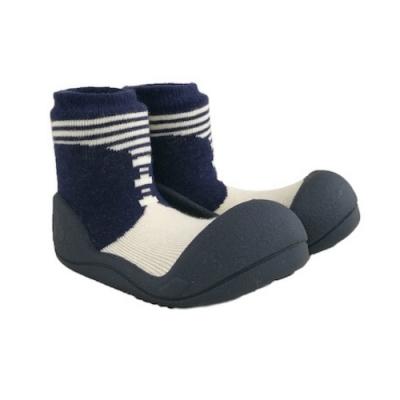韓國Attipas 快樂學步鞋ASBO02-英倫紳士灰