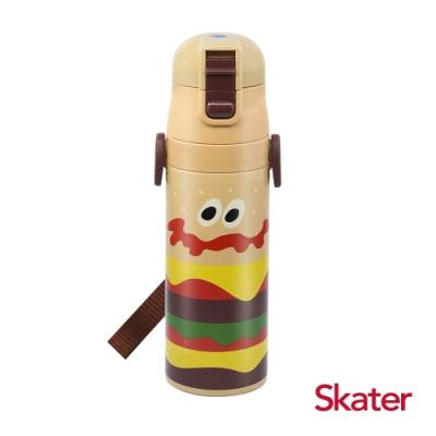 Skater直飲470ml不鏽鋼水壺-BURGER CONX