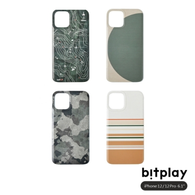 bitplay Wander Case iPhone 12/12 Pro (6.1吋)專用 立扣殼背蓋▲四款可選