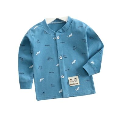 Baby童衣 長袖上衣 寶寶長袖T恤 純棉百搭長T 88218