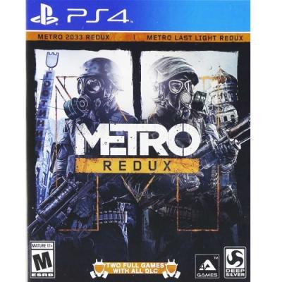 戰慄深隧二合一終極完整加強版 METRO REDUX - PS4 英文美版
