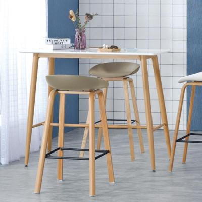 Boden-拉斯4尺雙色吧台桌/洽談桌/休閒桌-120x60x105cm