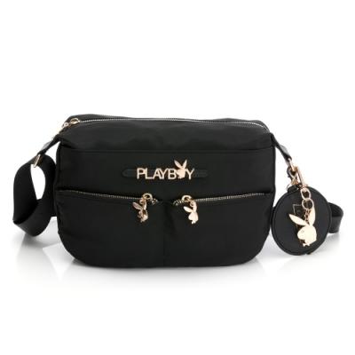 PLAYBOY-  斜背包 Function系列 -黑色