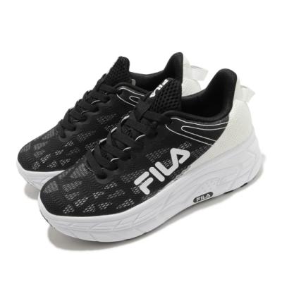 Fila 休閒鞋 J321V 厚底 老爹鞋 女鞋 斐樂 穿搭 緩震 流行 增高 黑 白 5J321V011