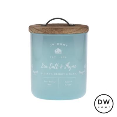 DW HOME 美國香氛 農園系列 海鹽百里香 原木蓋玻璃罐 240g