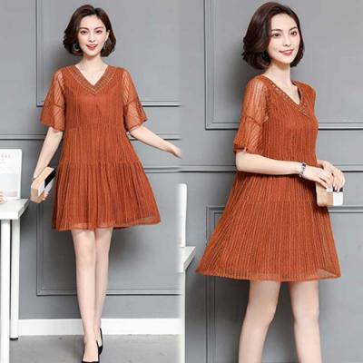 【韓國K.W.】時尚穿搭萬物完美名媛洋裝-2色