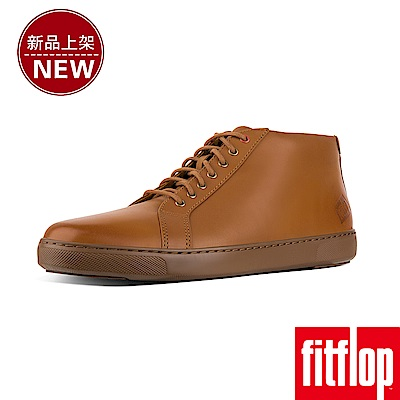 FitFlop ANDOR HIGH-TOP SNEAKERS-淺褐