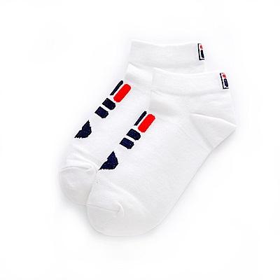 FILA 甲殼素薄底踝襪-白 SCT-1200-WT