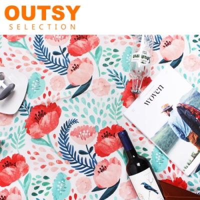 【OUTSY】新款極輕台灣製限量印花輕量野餐墊 未聞花名