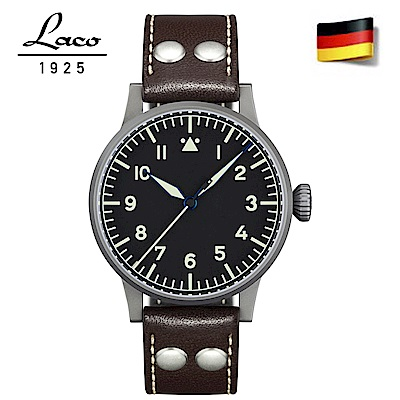 Laco 朗坤 861752 德國進口ETA-2824-2 飛行員手錶原型