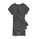 CACO-條紋一片裙洋裝-女【PSH072】