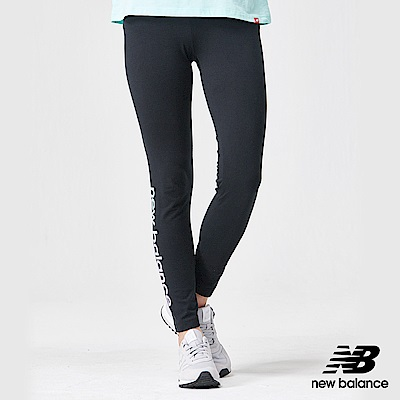 New Balance粉彩針織束口七分褲AWP91547BK_女黑色