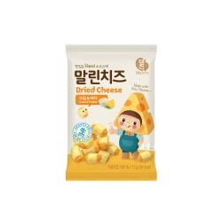 韓味不二 韓國原裝 乾起司(奶油乳酪&切達)(13g)