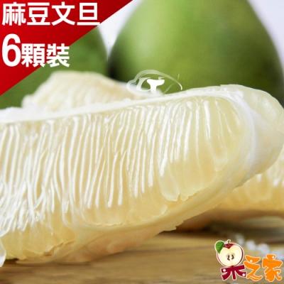 果之家 特選台南老欉40年正麻豆文旦6顆裝