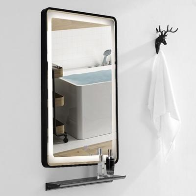 H&R安室家 亞維儂 智能LED發光觸控長燈鏡 ZA0204(掛鏡/浴鏡/化妝鏡/鏡子)