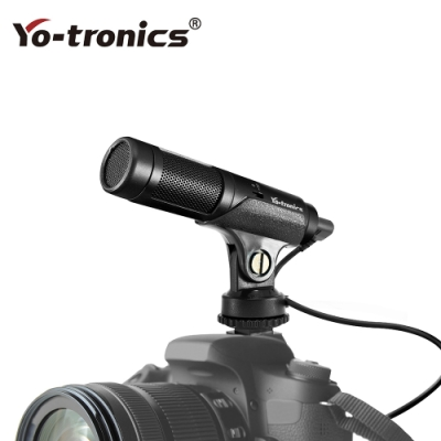 Yo-tronics 多媒體直播、手機相機攝影專用麥克風 – YTM-118e