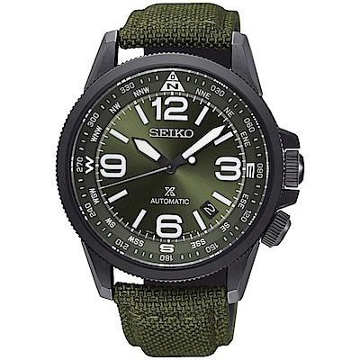 SEIKO 精工Prospex 空軍飛行機械錶(SRPC33J1)-軍綠/42mm