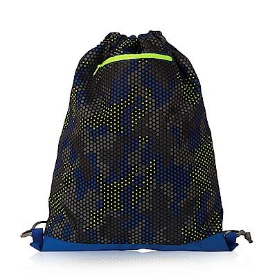Tiger Family探險家輕巧束口背包-迷彩藏藍