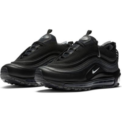 Nike 休閒鞋  運動 女鞋 經典款 氣墊 避震 球鞋 穿搭 黑 銀 CV9552001 Air Max 97 LX