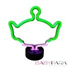 BabyPark 迪士尼三眼怪LED電池USB兩用夜燈