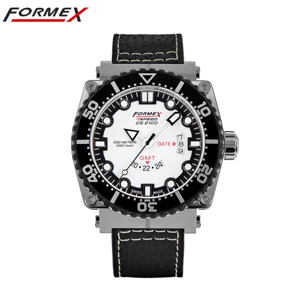 Formex 弗美克斯潛水系列石英GMT (白色)2100.3.2012.213