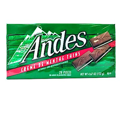 安迪士 單薄荷可可薄片(132g)