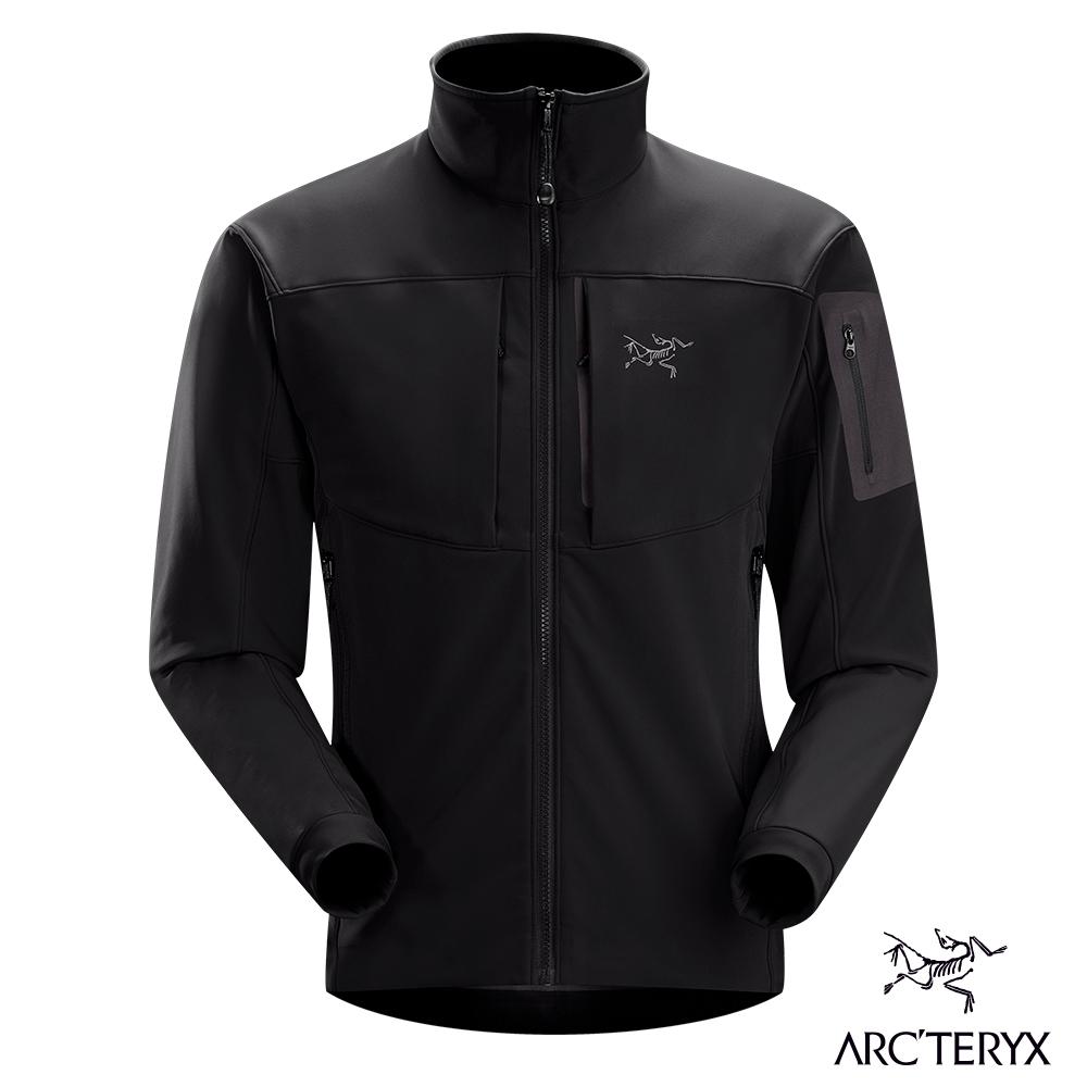 Arcteryx 始祖鳥 男 Gamma MX 抗水抗風 保暖 軟殼外套 黑鳥