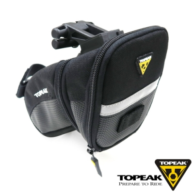 TOPEAK Aero Wedge Pack 快卡式安裝系統快拆式座墊袋-中型