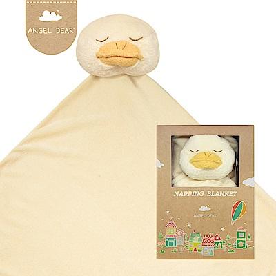 美國 Angel Dear 大頭動物嬰兒毛毯禮盒版 (小鴨)