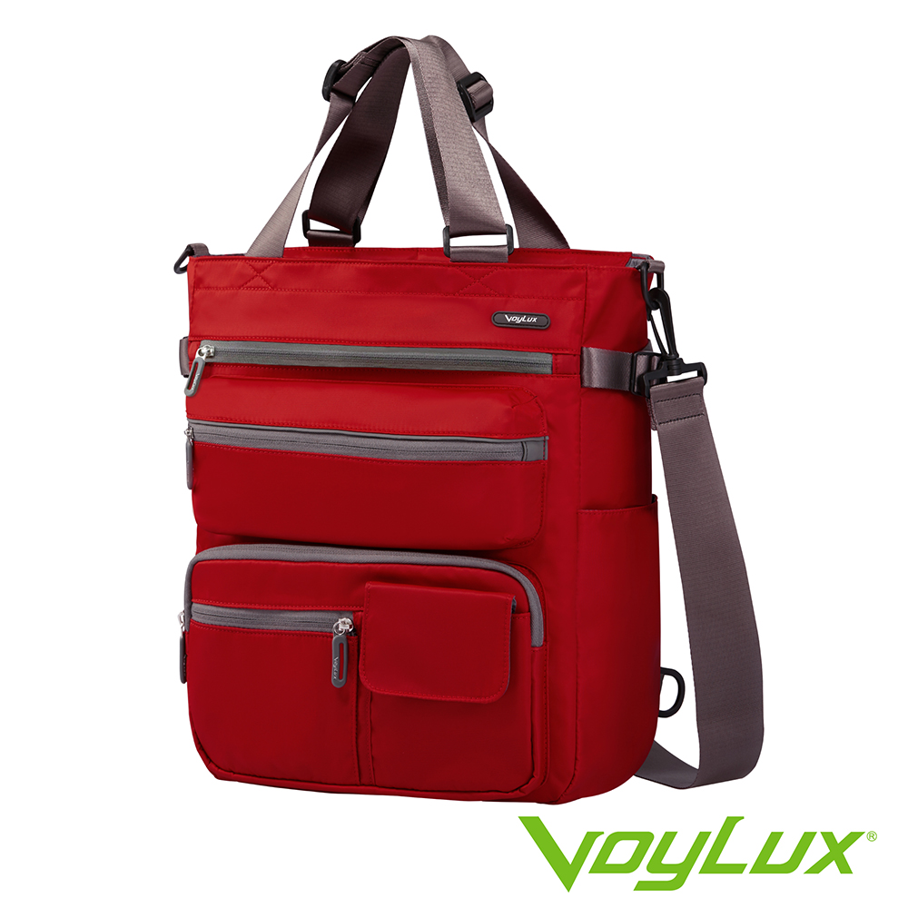 VoyLux 伯勒仕-VEGO系列-四用托特包-3580112A紅色