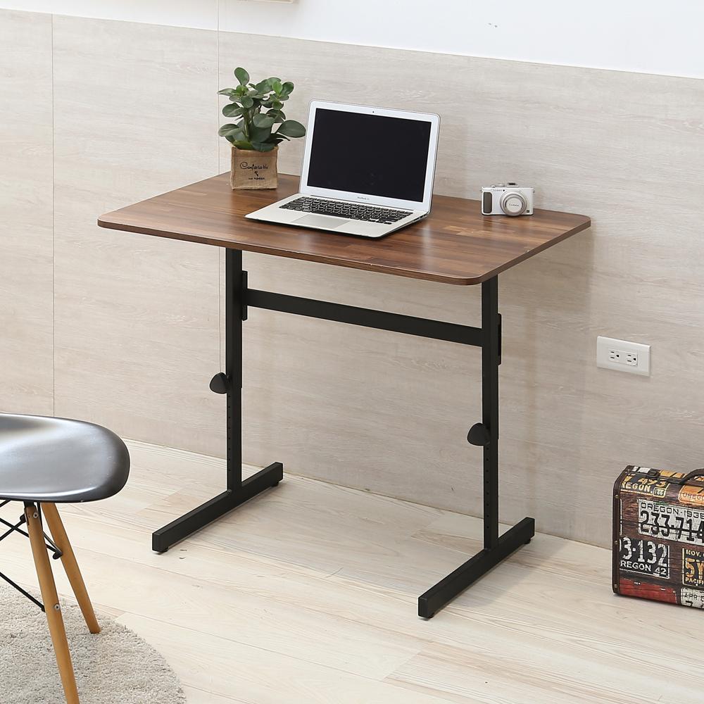 澄境 工業風90cm可調式升降工作桌/書桌/電腦桌90x60x52-76cm-DIY product image 1