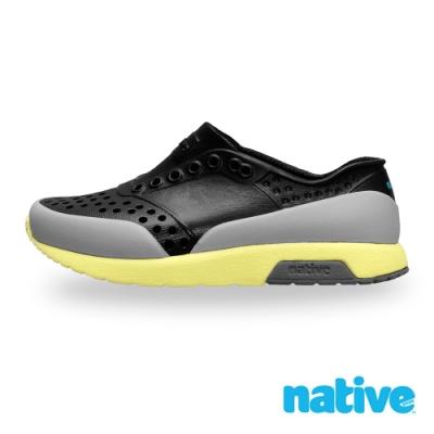 native大童鞋LENNOX小雷諾鞋-瞬黑x苔原灰