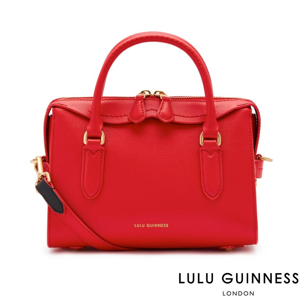 LULU GUINNESS DYLAN 手提包-小 (紅)