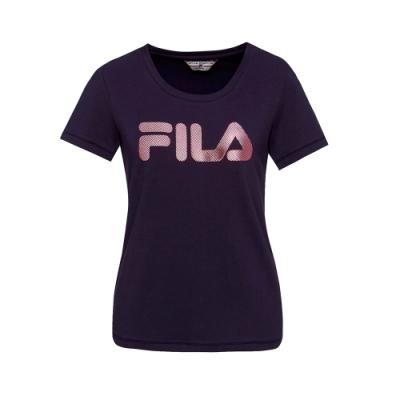 [時時樂] FILA 男女款短袖LOGOT恤(4款任選)