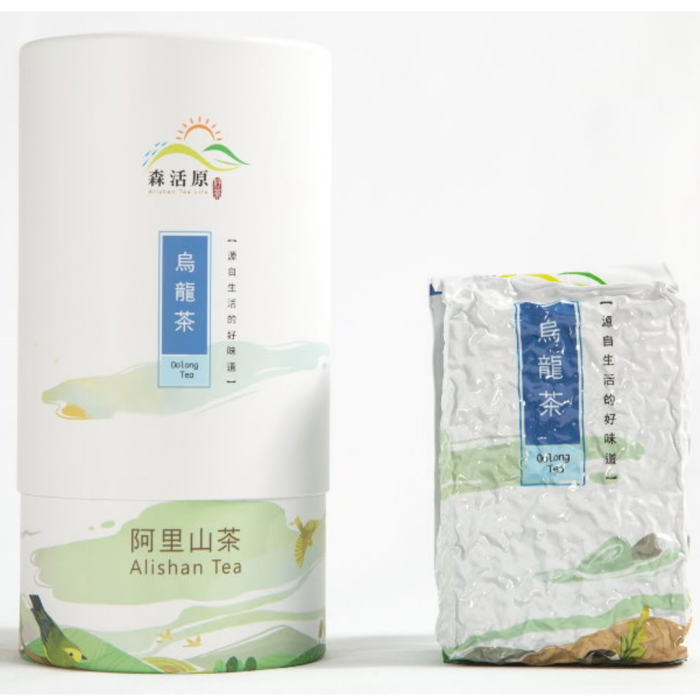 森活原-阿里山高山烏龍茶150Gx3罐