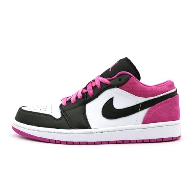 Nike AIR JORDAN 1 LOW SE 男籃球鞋-黑粉-CK3022005