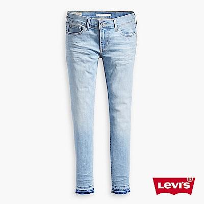 牛仔褲 修身 711 中腰緊身窄管 - Levis