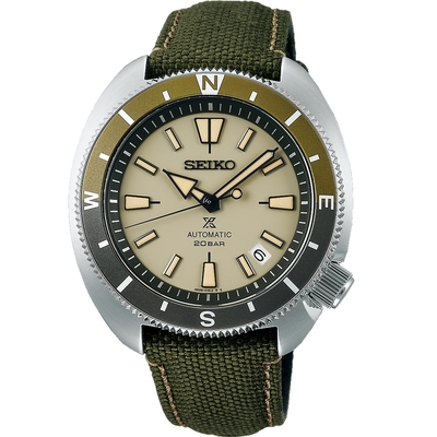 SEIKO精工 Prospex Land 復古200米機械腕錶SRPG13K1/(4R35-04Y0G)-42.4mm