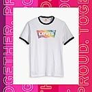 Levis 男女同款 短袖T恤 Pride限量平權系列 彩虹Logo