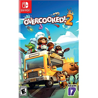 煮過頭 2 OVERCOOKED 2 - NS Switch 中英日文美版