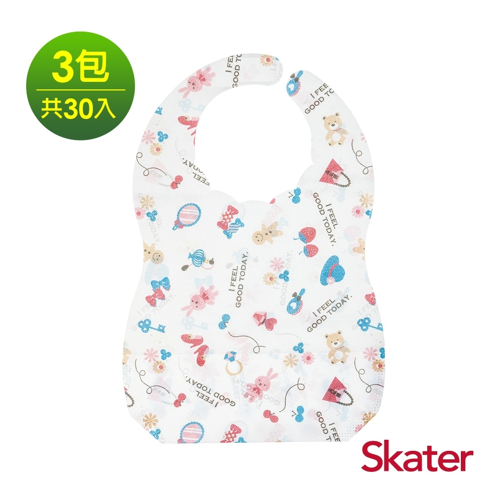 Skater拋棄式圍兜3包 (洋娃娃)共30入