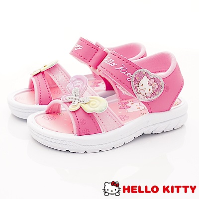 HelloKitty童鞋 繽紛蝴蝶涼鞋款 EI19221桃(中小童段)
