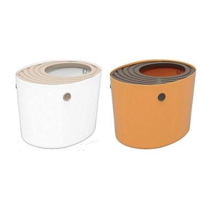 IRIS 桶式貓便箱 白/黃 (PUNT-430)