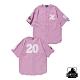 XLARGE BASEBALL SHIRT刺繡棒球襯衫-紫 product thumbnail 1